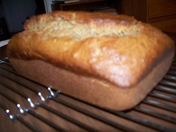 Peanut Banana Bread Recipe