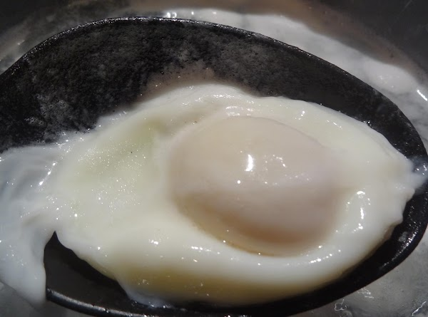 This is a perfectly poached egg.