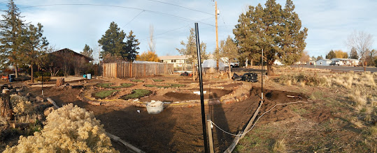Photo: outside path is getting close to being finished!