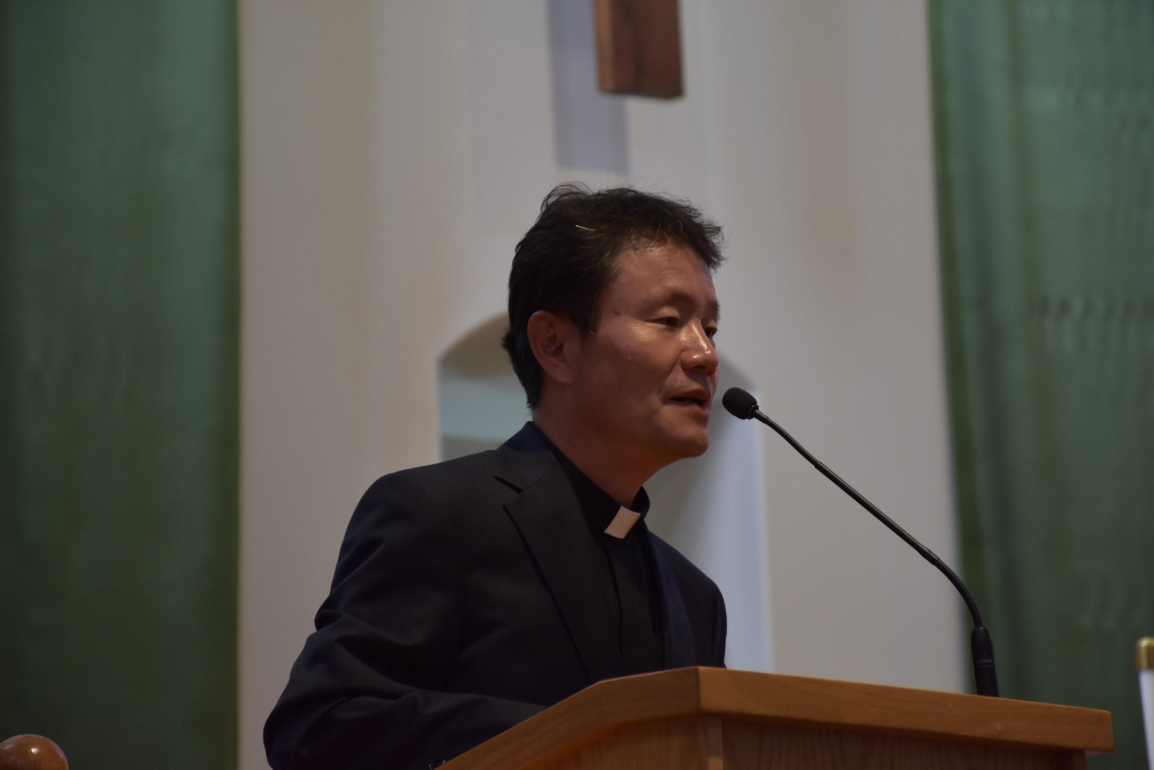 레지오 마리애 꼬미시움 전단원 피정, 김한모 바오로 신부, 조화선 마오로 수녀