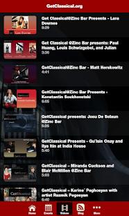 GetClassical - náhled