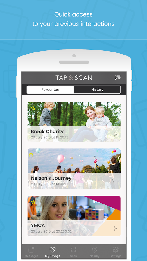 Tap & Scan- screenshot