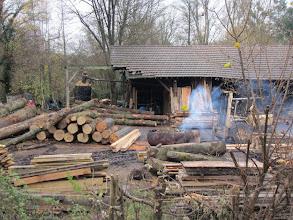 Photo: La dernière scierie des Yvelines