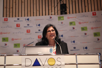 """Photo: Roma Balwani - presenting: """"Chief Comms Officer's Role"""" Panel - 2012"""