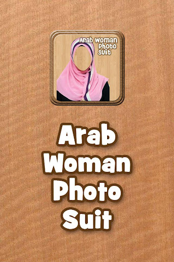 Arab Woman Photo Suit