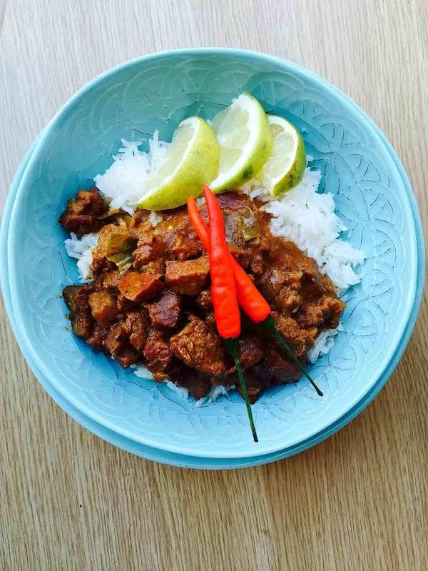 Ox Tongue Curry Recipe