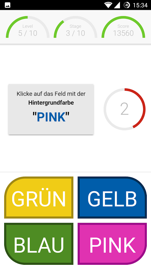Farbenlogik 💡 Gehirnjogging- screenshot