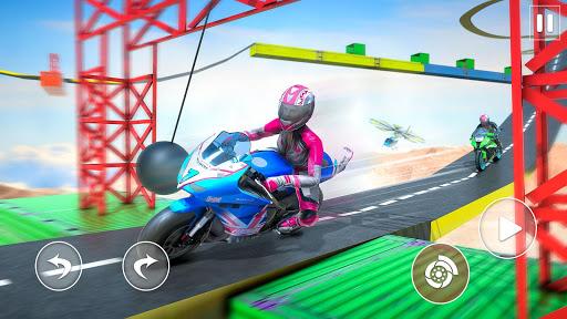 Racing Moto Bike Stunt -Impossible Track Bike Game apktram screenshots 10