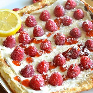 Raspberry Lemon Cheesecake Pastry