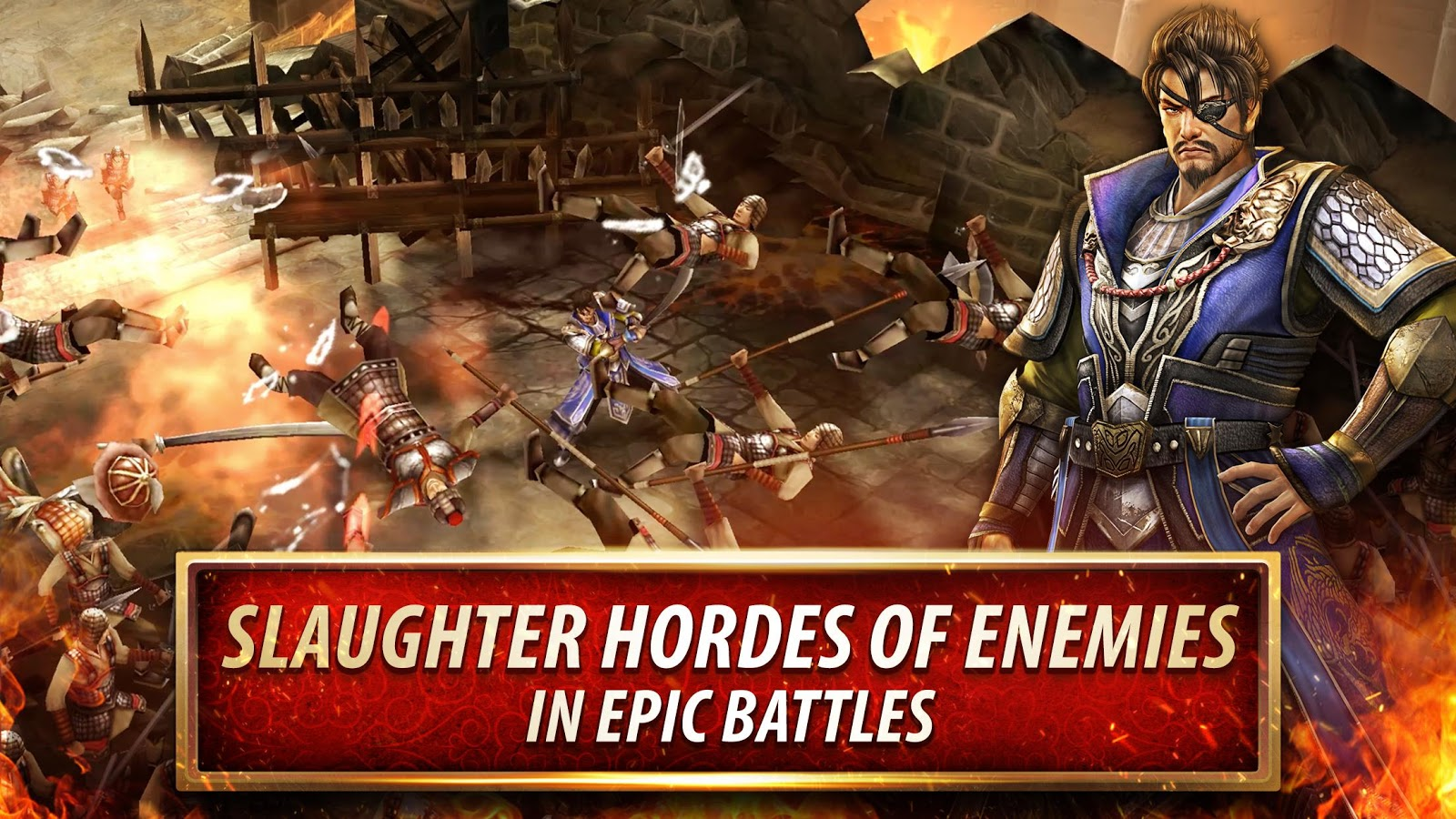 Dynasty Warriors: Unleashed– captură de ecran