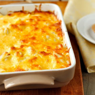 Mom's Baked Cheesy Eggs
