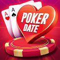 Poker Date: Texas Holdem & Teen Patti Card Game icon