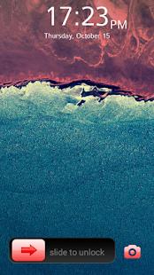 Zámek Screen S Slider - náhled
