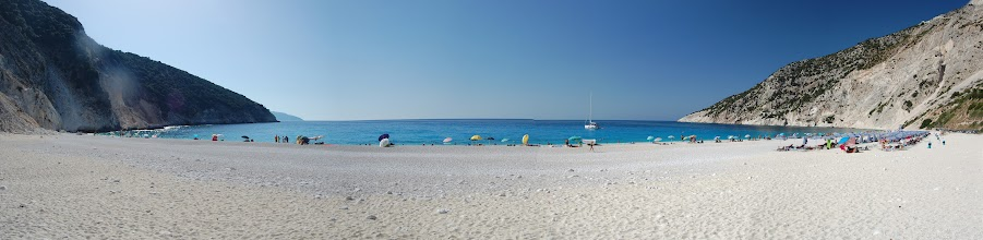 Photo: Myrtos beach [panorama]