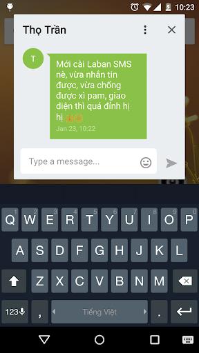 Laban SMS: spam blocker screenshot 5