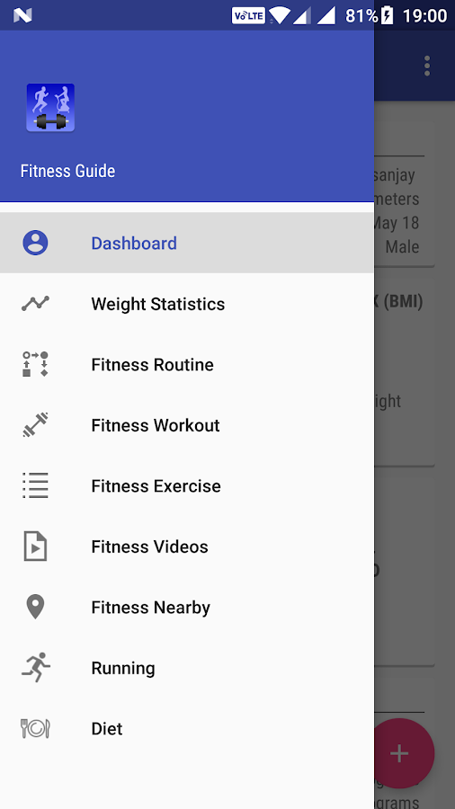 Fitness Workout Guide- screenshot