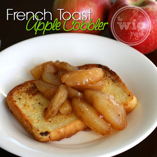 French Toast Apple Cobbler #LuckyLeafLuckyMe