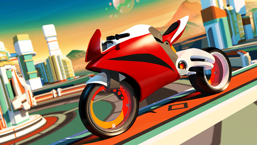 Gravity Rider - Moto-cross - Jeu de course de moto APK MOD screenshots 2