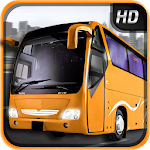 Urban City Bus Driver Icon