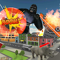 Gorilla City Rampage: Gorilla City Battle 2019 icon