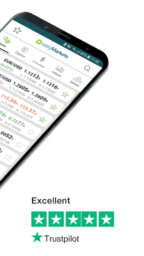 easyMarkets:  Trade Forex, Bitcoin, Oil and Shares 1.20.11 Screenshots 2