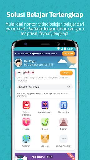 Ruangguru - One-stop Learning Solution 4.1.0 screenshots 1
