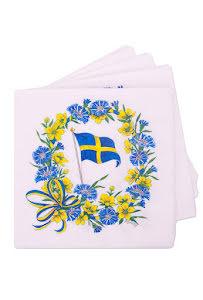 Servetter, blomster SE
