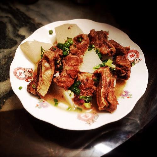 beef, Brisket, chinese, daikon, recipe, Stew, 清湯, 牛坑腩, 蘿蔔