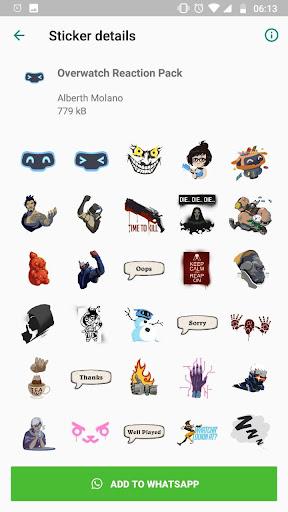 Overwatch Stickers 1.2 screenshots 2