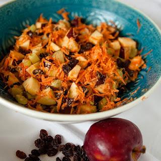 Apple and Raisin Salad.