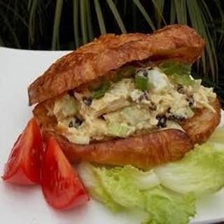 Crunchy Curry Tuna Sandwich.