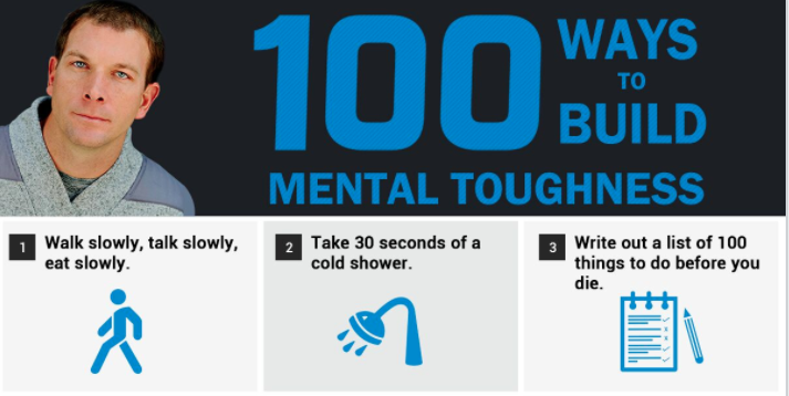 (infographic) 100 ways to build mental toughness