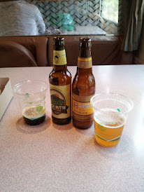 Lunch in the dining car: quality bottled refreshments