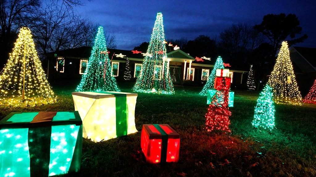 Lights around Hendersonville