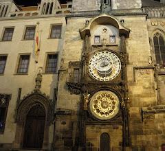 Photo: Astronomical clock in prague