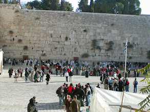 Photo: The Western Wall, Judaism's holiest site