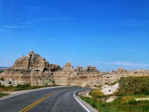 Photo: Driving along the Badland Loop Road