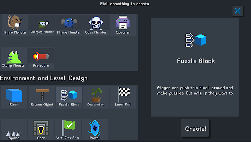 Pocket Game Developer Beta 2.18.17 screenshots 3