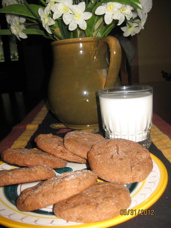 Chewy Chunky Cocoa Cookies Recipe