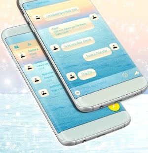 Zpráva SMS o vodě - náhled