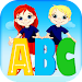 English alphabet:Trace letters icon