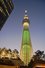 Photo: tokyo sky tree by night
