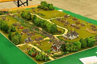Photo: La battaglia del Boyne(il campo di battaglia visto da nord-ovest)