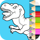 Dino Coloring Pages icon