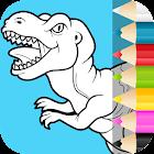 dinossauros para colorir icon