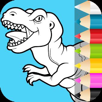 Dinozor Boyama Sayfaları Hileli Apk Indir 1035