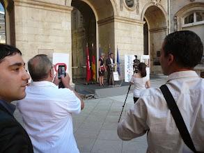 Photo: discours de Yann Cucherat adjoint aux sports ville de Lyon