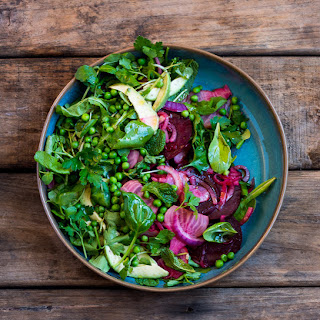 Beet, Avo and Pea Salad Recipe