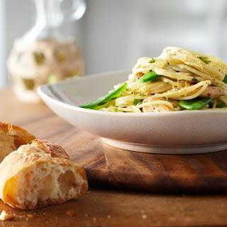 Lemon Chicken Spaghettini