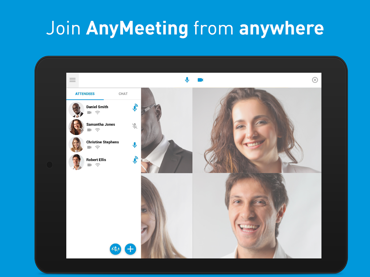 Intermedia AnyMeeting- screenshot